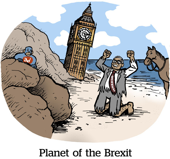 Planet of the Brexit