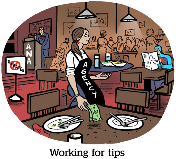 Working For Tips