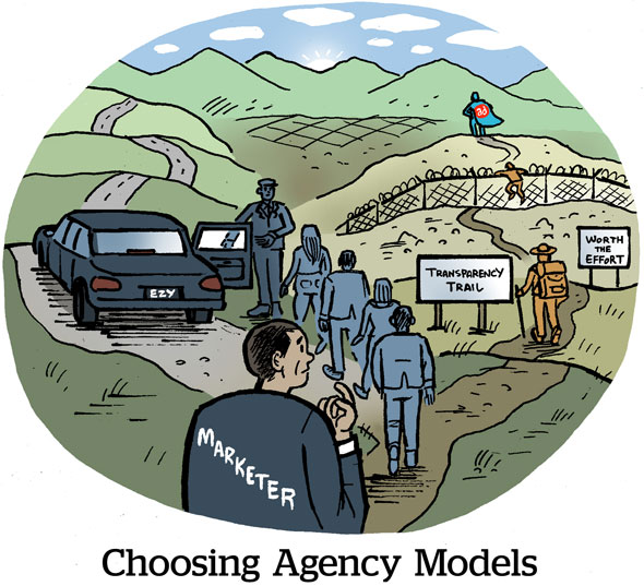 Choosing Agency Models