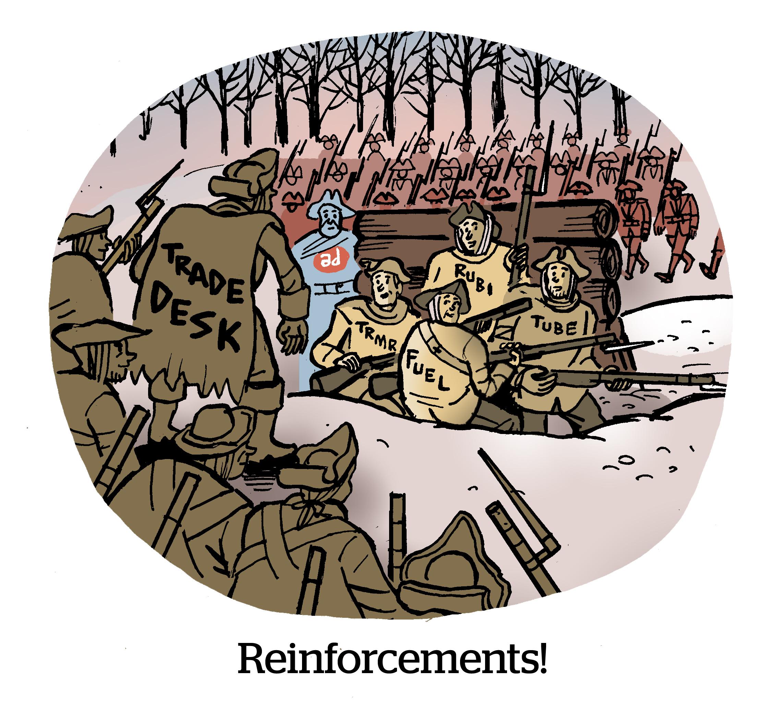 Reinforcements!