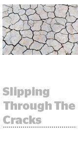 slippingthroughthecracks