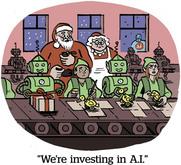 We're investing in A.I.