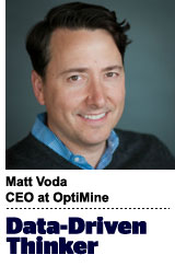 Matt Voda, CEO of OptiMine Software