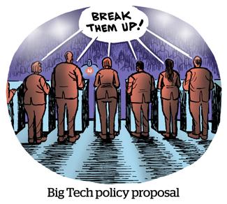 Comic: Big Tech policy proposal