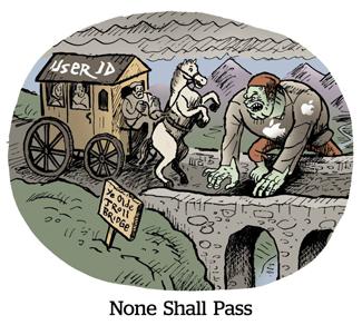 None shall pass!