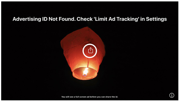 graphic: no advertising ID found