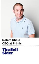 Rotem Shaul headshot -- Sell Sider