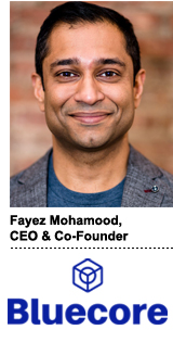 Fayez Mohamood, Bluecore's CEO and co-founder