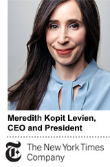 New York Times CEO Merdith Kopit Levien