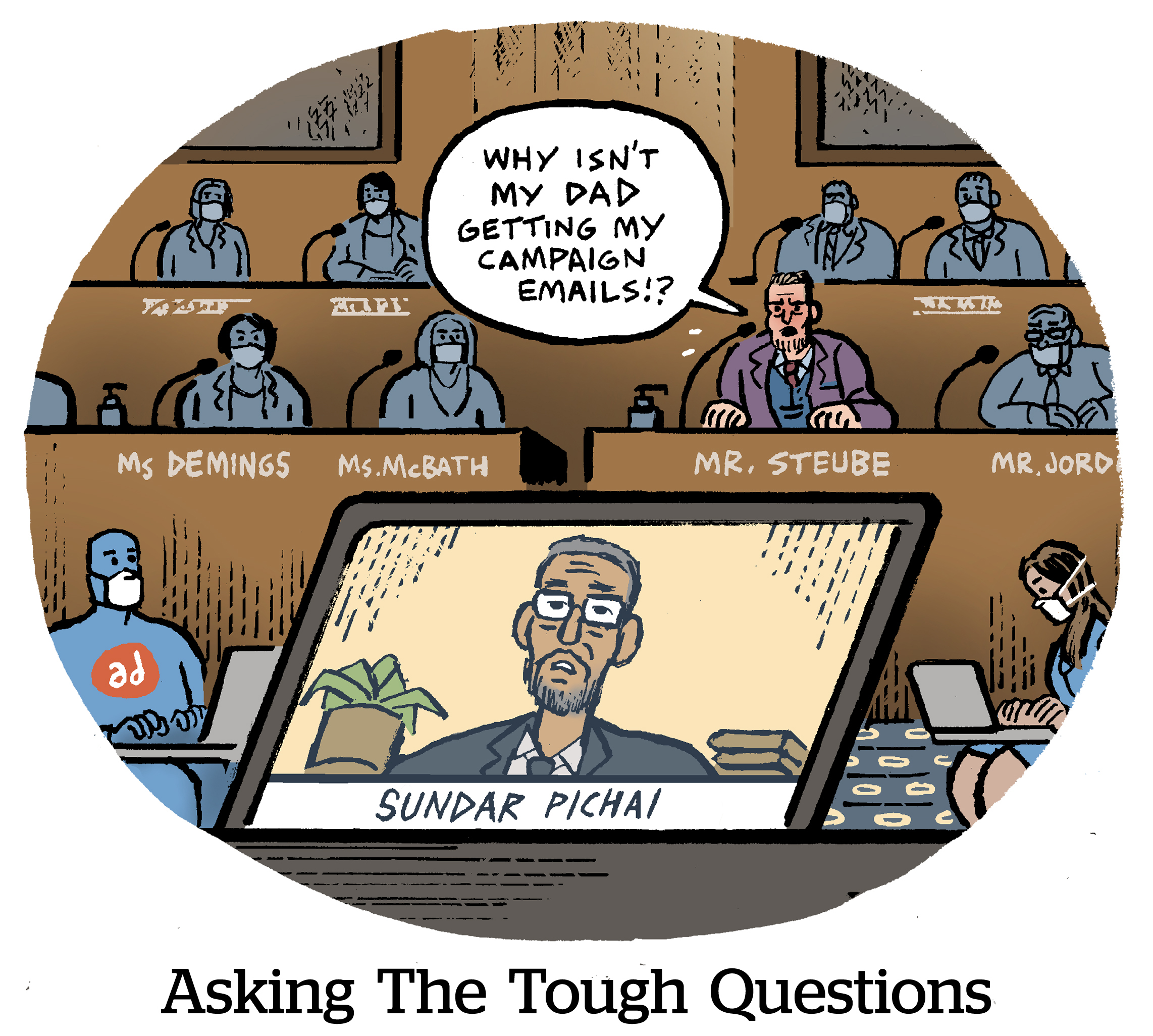 Comic: Asking The Tough Questions