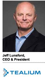 Jeff Lunsford, CEO & president, Tealium