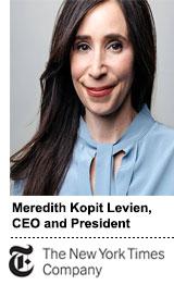 CEO Meredith Kopit Levien