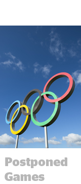Olympic rings photo