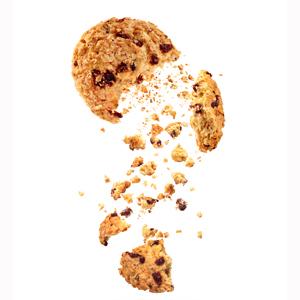 Cookie crumbling image