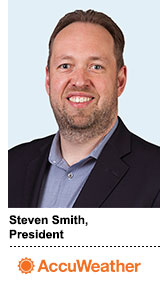 AccuWeather President Steven Smith