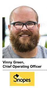 Vinny Green Snopes