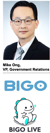 Mike Ong, VP of government relations, BIGO
