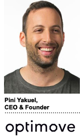 Pini Yakuel, CEO and founder, Optimove