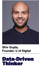 Shiv Gupta, founder, U of Digital