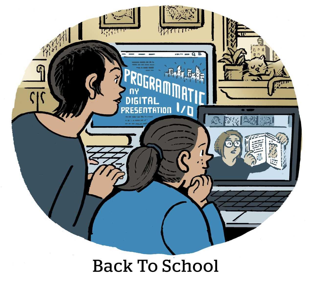 Comic: Back to School