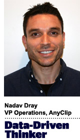 Nadav Dray, VP Operations, AnyClip