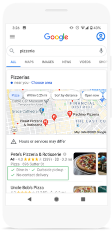Google Prioritizes Area Firms With New Advertisement Equipment