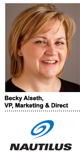 Becky Alseth, VP of marketing and direct at Nautilus