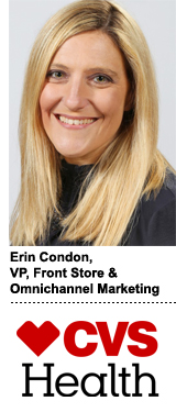 Erin Condon, VP of front store and omnichannel marketing at CVS Health