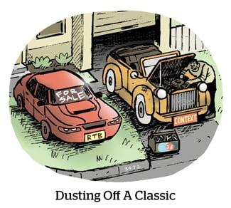 Comic: Dusting off a classic.