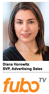Diana Horowitz, SVP of ad sales, FuboTV