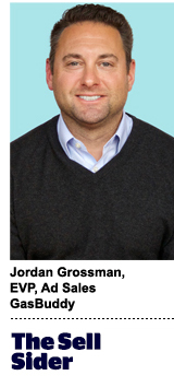 Jordan Grossman, EVP of ad sales, GasBuddy