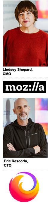 Mozilla CMO Lindsey Shepard & Firefox CTO Eric Rescorla
