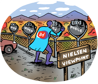 Nielsen is developing an identity resolution solution to help advertisers measure audiences across platforms after third-party cookies and other mainstay identifiers go ta-ta.
