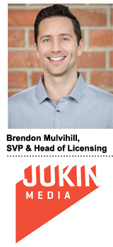 Brendon Mulvihill, SVP and head of licensing at Jukin