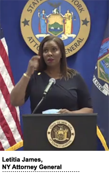 Letitia James, NY attorney general