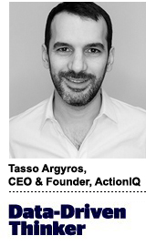 Tasso Argyros, CEO and founder of ActionIQ