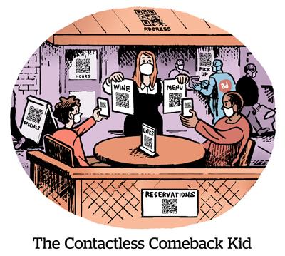 Bande dessinée: L'enfant de retour sans contact