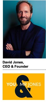 David Jones, CEO and founder of You & Mr Jones