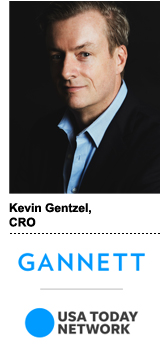 Gannett CRO Kevin Gentzel
