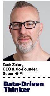 Zack Zalon, CEO & co-founder, Super Hi-Fi