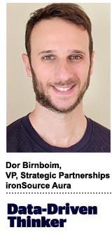 Dor Birnboim, VP of strategic partnerships, ironSource Aura