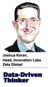 Joshua Koran, head of innovation labs, Zeta Global