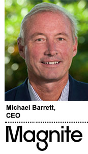Magnite CEO Michael Barrett