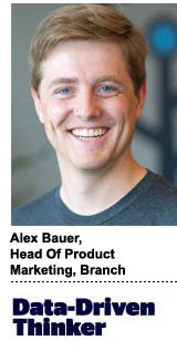 Alex Bauer, head of product marketing, Branch