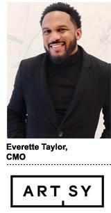 Everette Taylor, CMO, Artsy