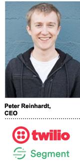 Peter Reinhardt, CEO, Twilio-Segment