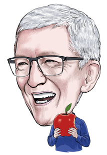 Tim Cook takes a bite out of the advertising biz.