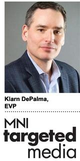 Klarn DePalma, EVP of MNI Targeted Media