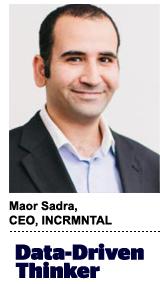Maor Sadra, CEO, INCRMNTAL