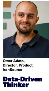 Omer Adato, director of product, ironSource
